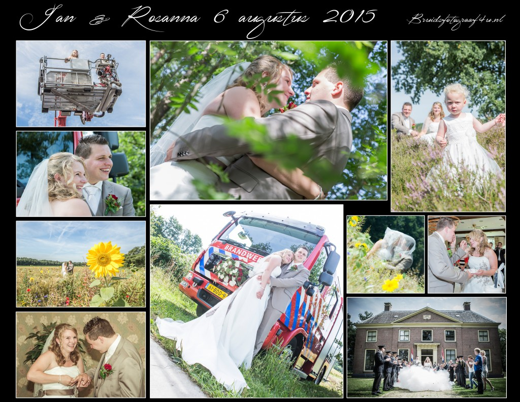 06-08-2015 Bruidsreportage Jan & Rosanna