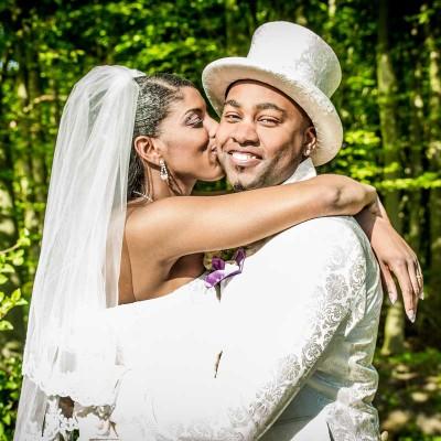Bruidsfoto-surinaamse-bruiloft, antilliaanse bruiloft, trouwfoto Den Haag, huwelijk Zoetermeer